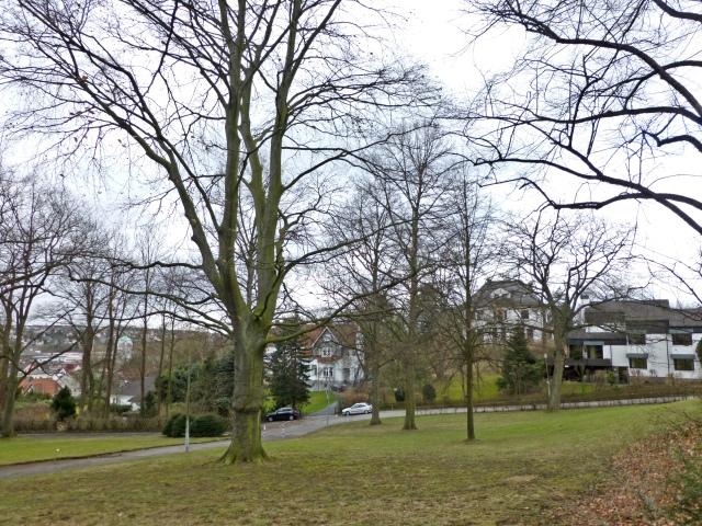 von Wilhelmshöhe auf unteren Wilhelmshöhen-Park