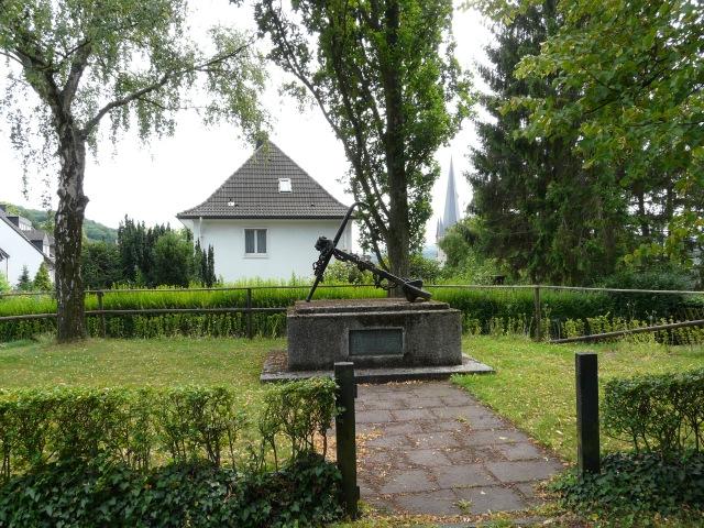 Marine-Denkmal am Bromberken
