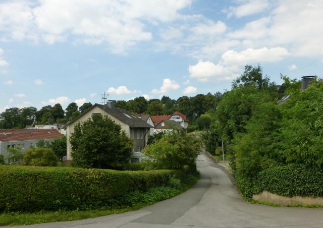 Verbindungsstraße Ob dem Glockenteich zur mittleren Werringser Str.