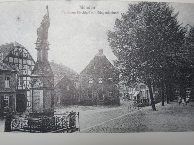 1912, Hagelbette am Markt