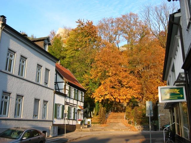Eingang Kapellenberg an Kapellenstr.