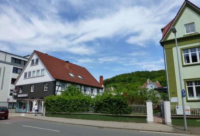 von Kolpingstr. auf Brückstr., Twiete und Kapellenberg