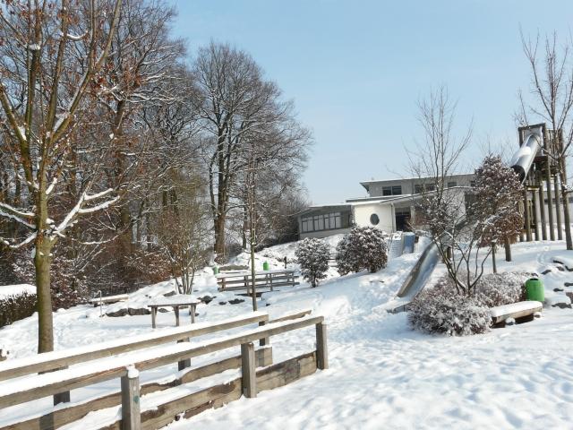 Pater-Kolbe-Str.; Integrativer Spielplatz und Frühförderstelle der Lebenshilfe