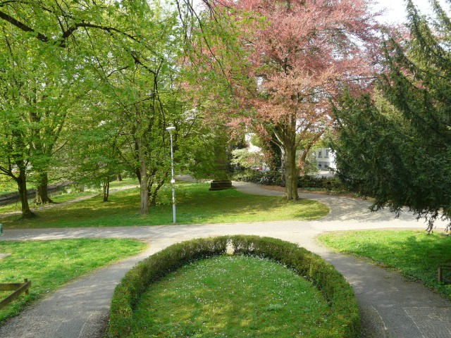 von Walram-Treppe auf Arboretum