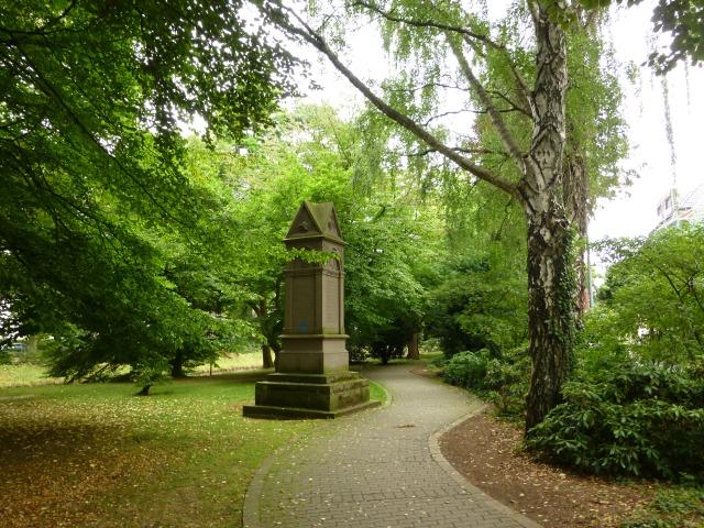 Ehrenmal im Arboretum