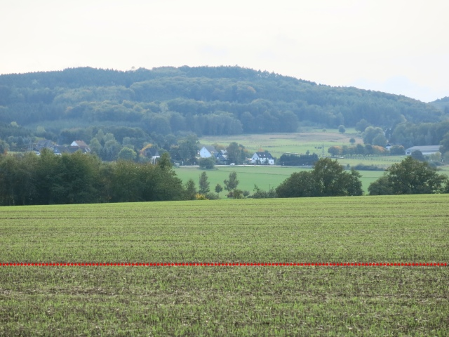 Niederbarge und Brockhausen von Nordost; hinten: Noltenkopf