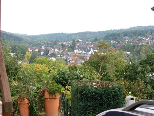 vom Klevesberg über Hönne auf Hofeskamp, Lahrtal und Pellenberg (oben rechts)