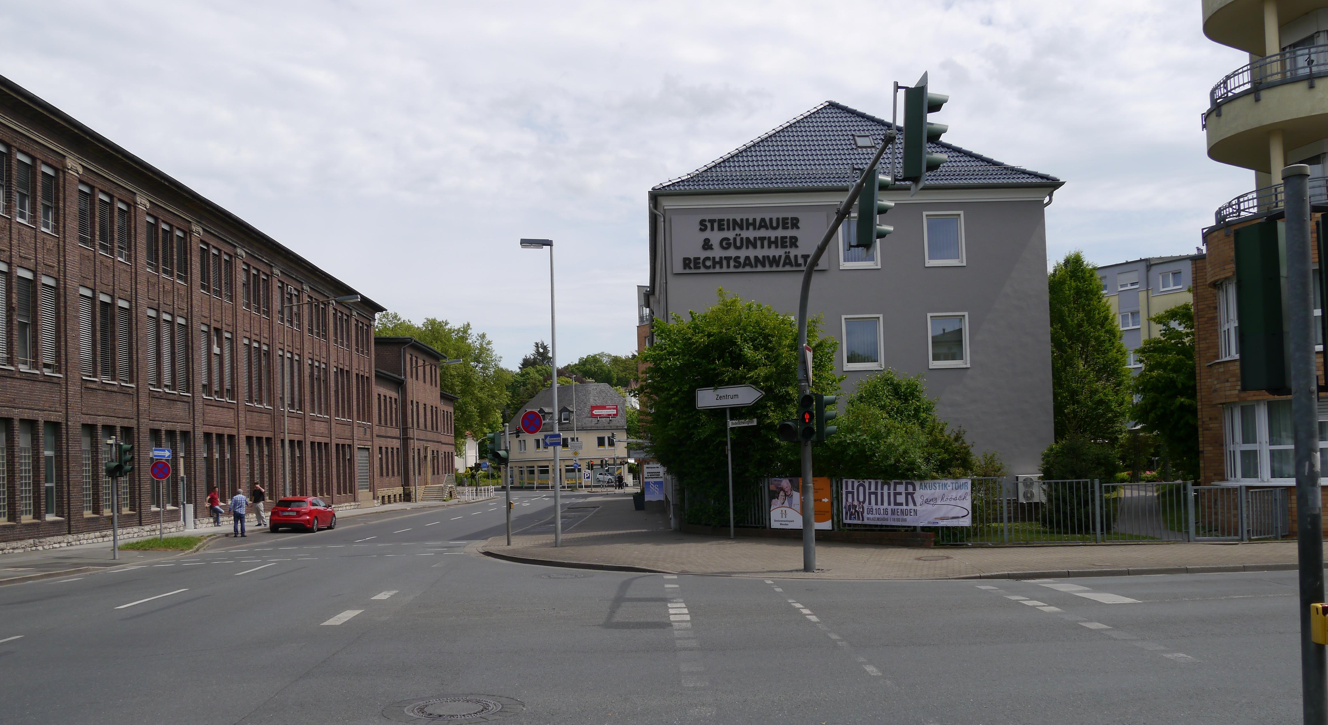 Grohe Menden bilderkreisel 187 unterste märkische straße bundesstraße zwischen