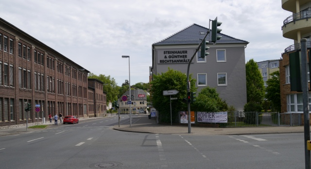 Märkische Str. / Bodelschwinghstr.; altes Grohe-Gebäude