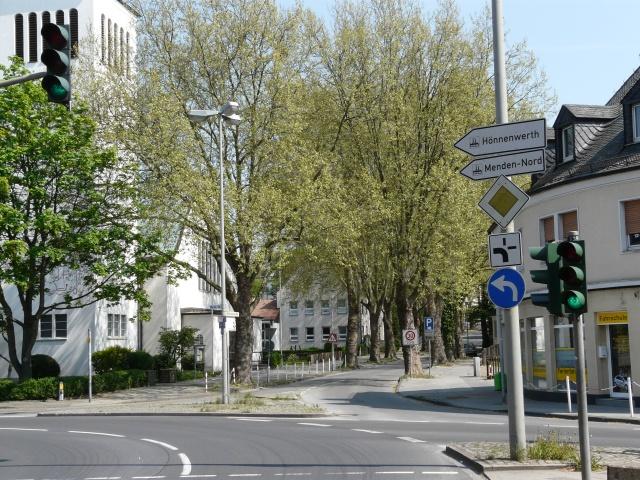 B7-Abzweig Märkische Str. / Werler Str. und untere Walburgisstr.