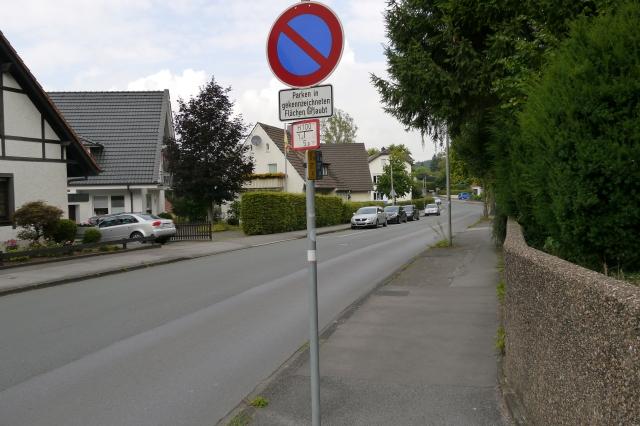 Schwitter Weg, zwischen Kaiserstr. und Walburgisstr.