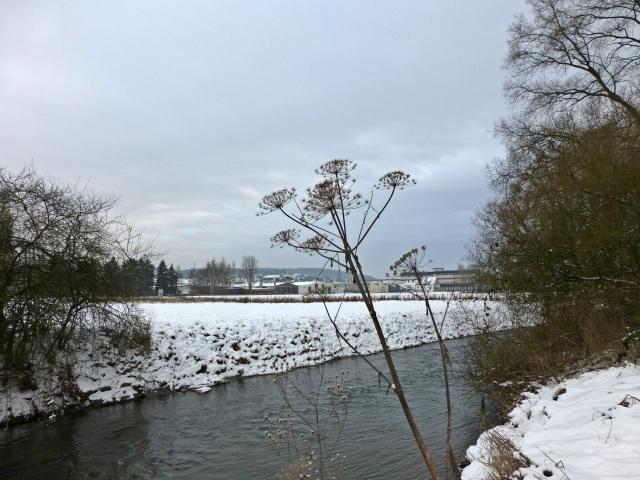 Hönne in Höhe des Wunne-Siepens, vom Westufer [im JaTaBu-Blog]