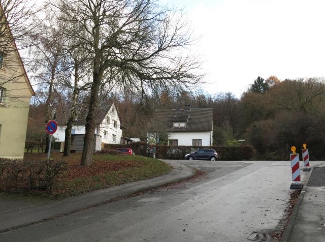 Gollackswiese / Gollacksplatz (nach links) / Fuchshöhlenweg