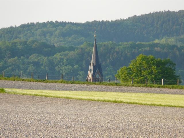 Kirche Halingen von Halinger Heide