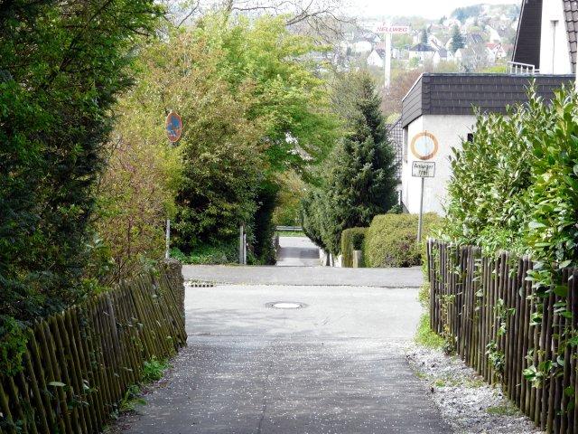 Fußweg Schillerstr. - Hofeskamp